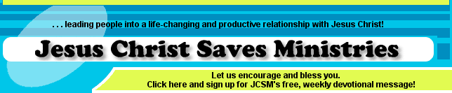 Welcome to JCSM's Top 1000 Christian Sites.