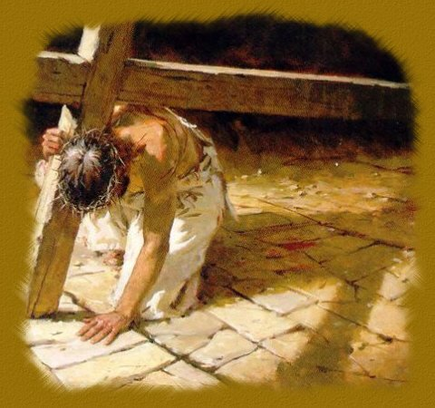 what does it mean to carry the cross of jesus stepping stones